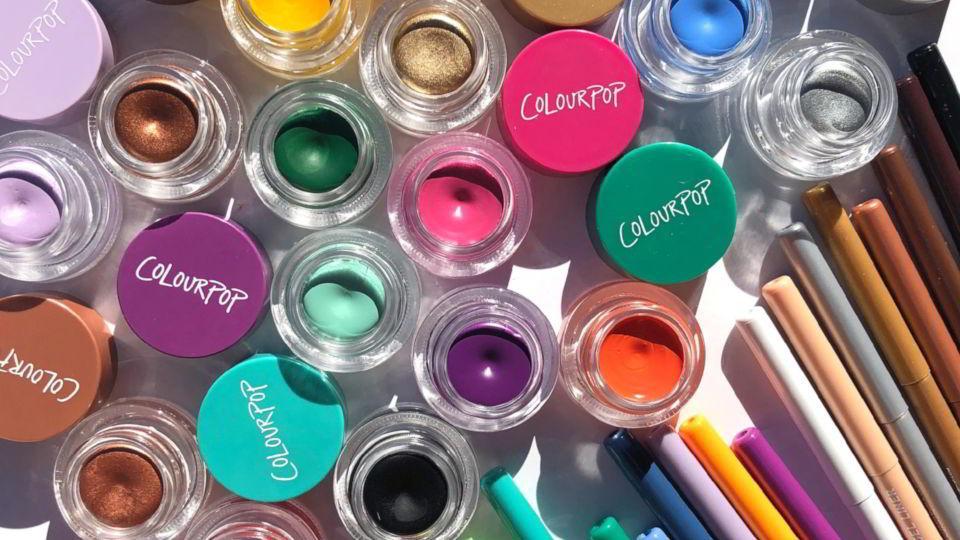 ColourPop y sus novedades para cejas y ojos en Abril
