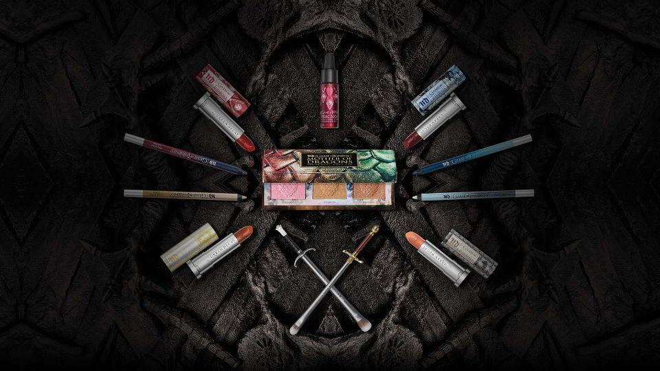 Colección de Urban Decay y Game of Thrones