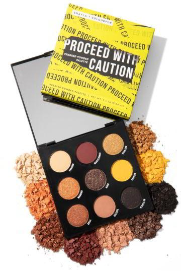 Proceed With Caution Palette