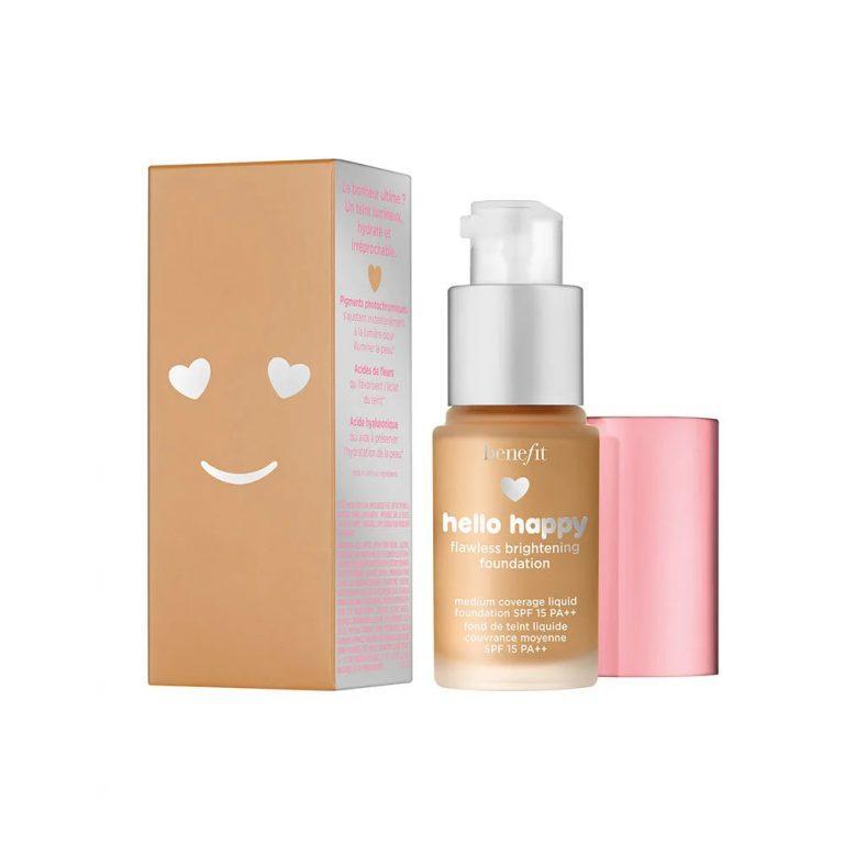 Benefic Cosmetics Hello Happy Flawless Brightening Foundation Mini 1