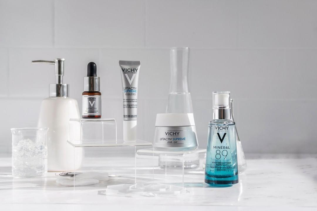Productos de Vichy para el cuidado de la piel