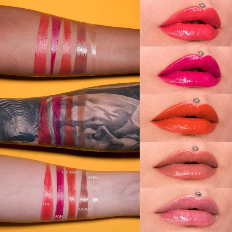 The Fantastick Lipsticks Swatches