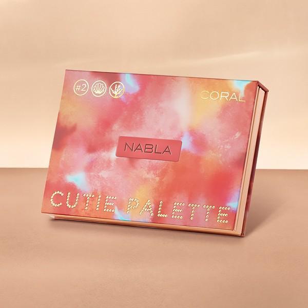 Colección Nabla Denude 2019 cutie palette coral