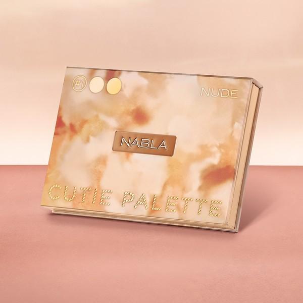 Colección Nabla Denude 2019 cutie palette nude