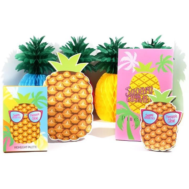 Coleccion Pineapple de Sugary Cosmetics Square