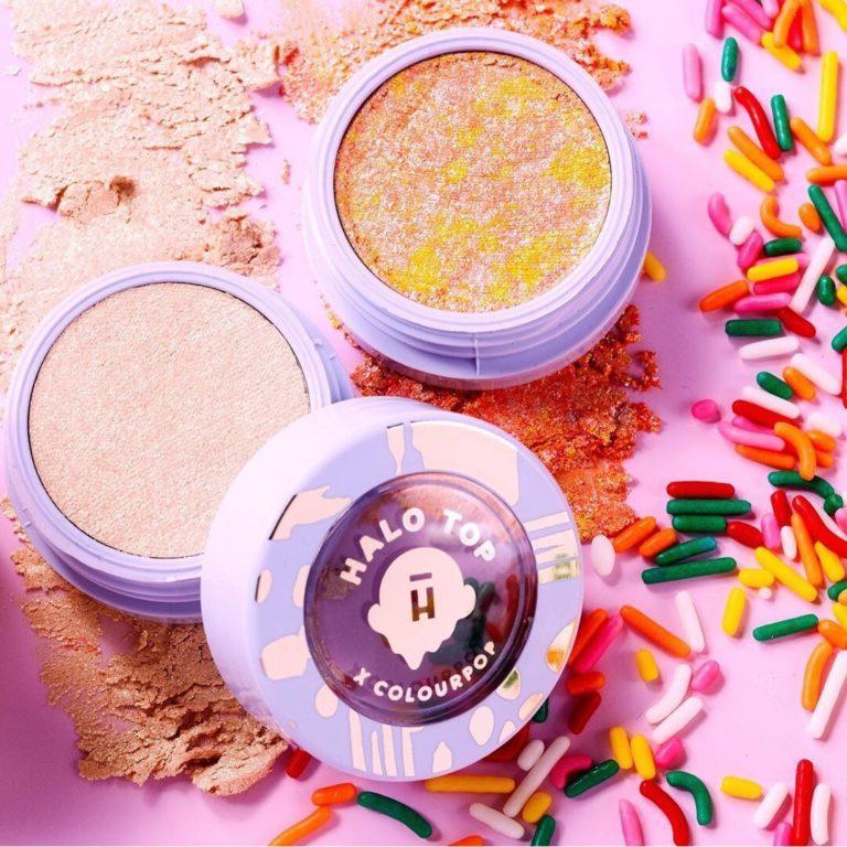 Colourpop Sweet ice cream Rainbow Swirl