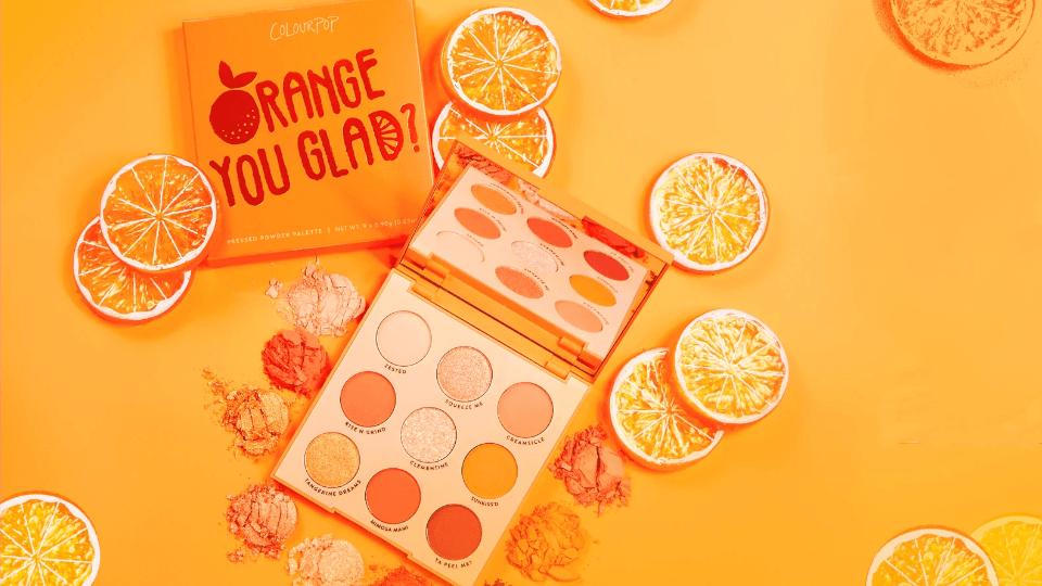 Colourpop naranja