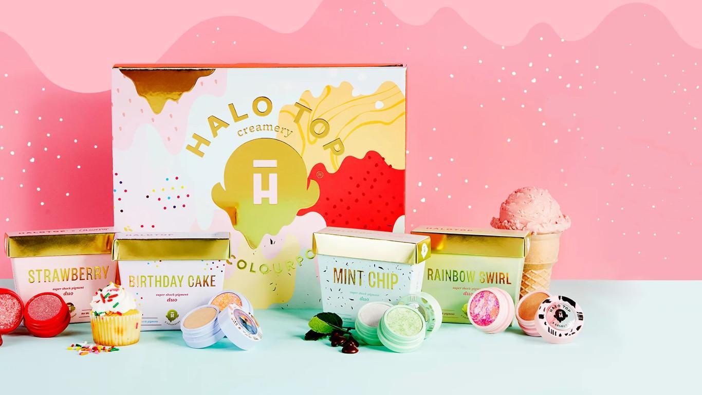 Halo Top x Colourpop Main