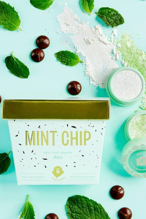 Halo Top x Colourpop Mint Chip