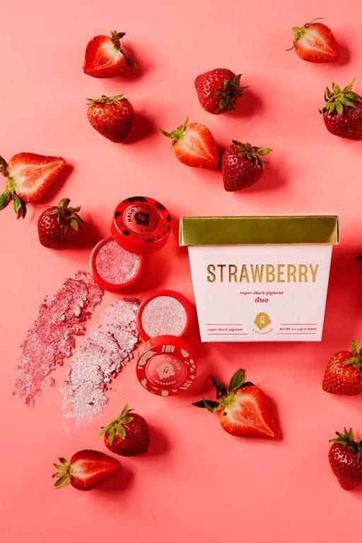 Halo Top x Colourpop Strawberry
