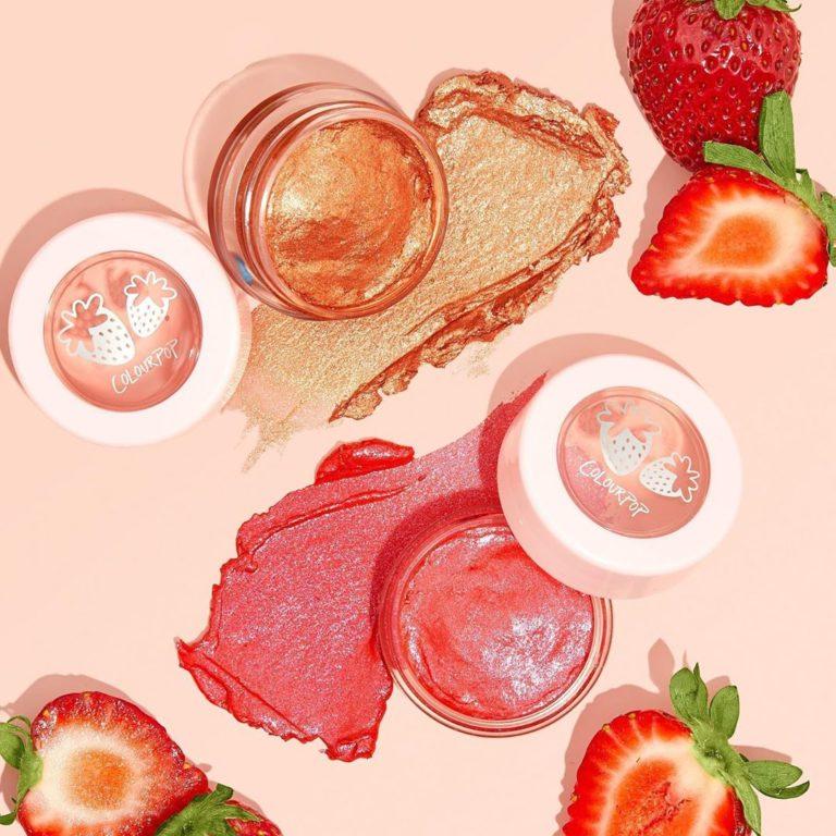 Jelly Much Shadows de la colección fresas de Colourpop