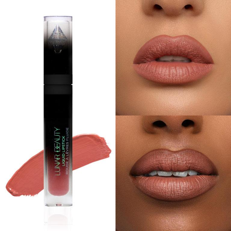 Lunar Beauty Strawberry Dream Lipstick DayDream Collage