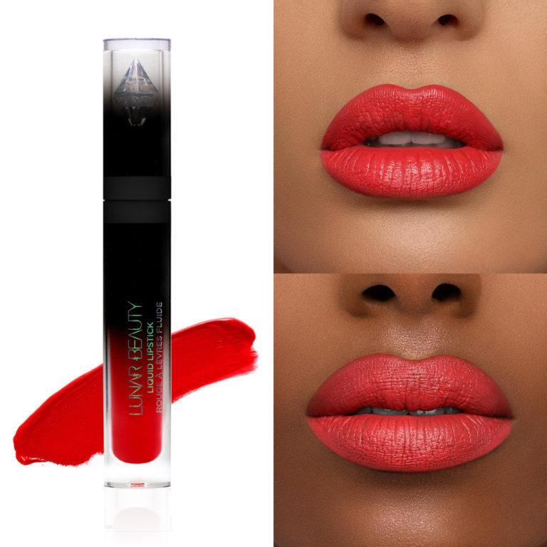 Lunar Beauty Strawberry Dream Lipstick Dreamsicle Collage