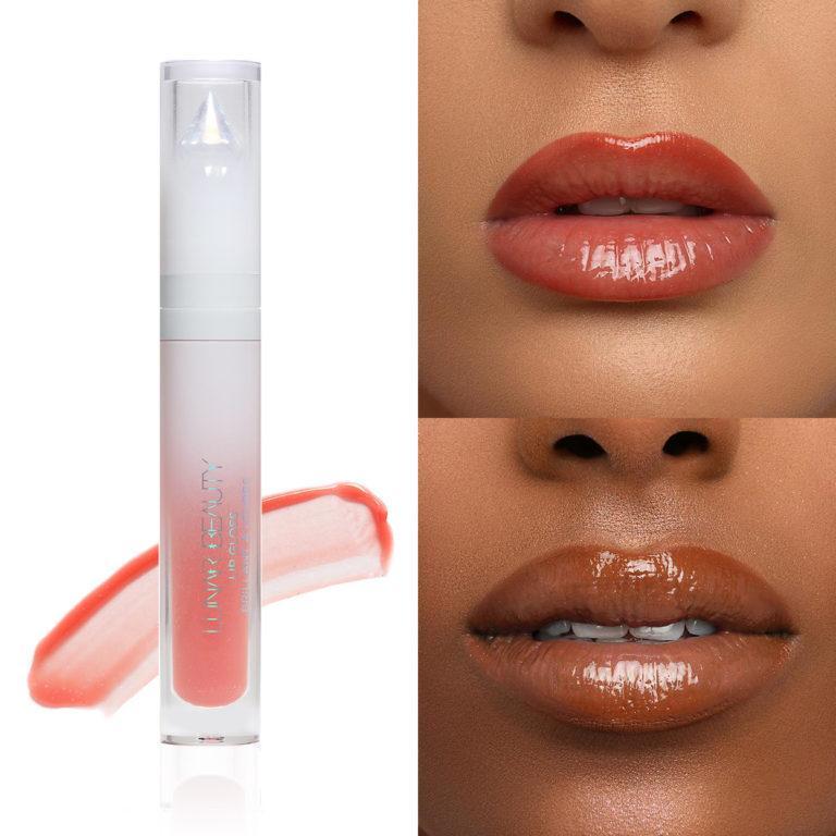 Lunar Beauty Strawberry Dream Lipstick Dreamy Collage