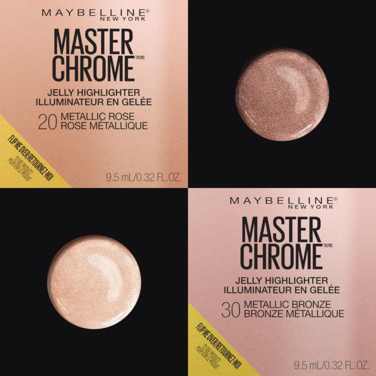 Master Chrome Jelly Highlighter Makeup Package