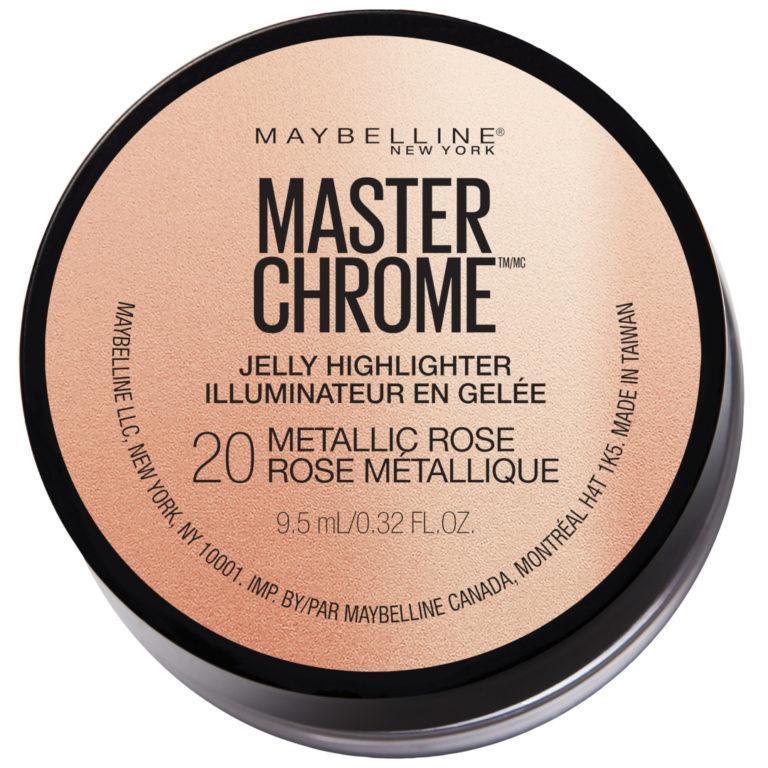 Master Chrome Jelly Highlighter Makeup Rose 1080