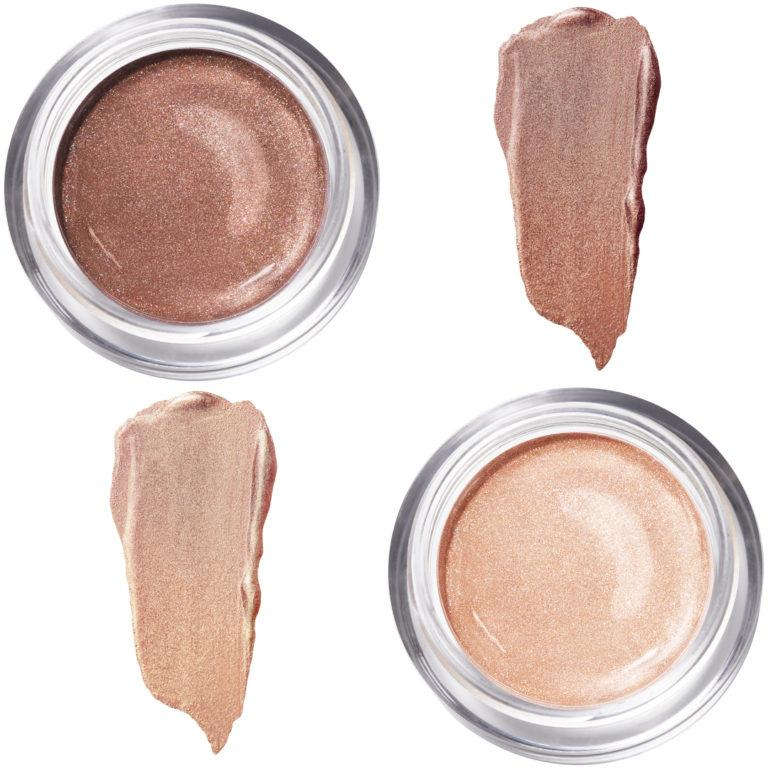 Master Chrome Jelly Highlighter Makeup Rose & Bronce Swatches