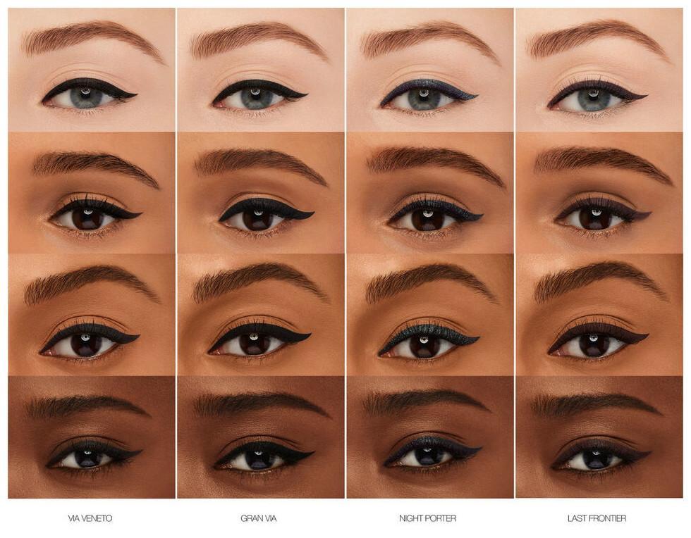 NARS eyeliner en ojos con nombre Blog 1