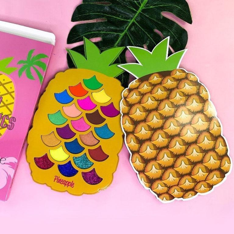 Nueva Paleta Pineapple de Sugary Cosmetics Square