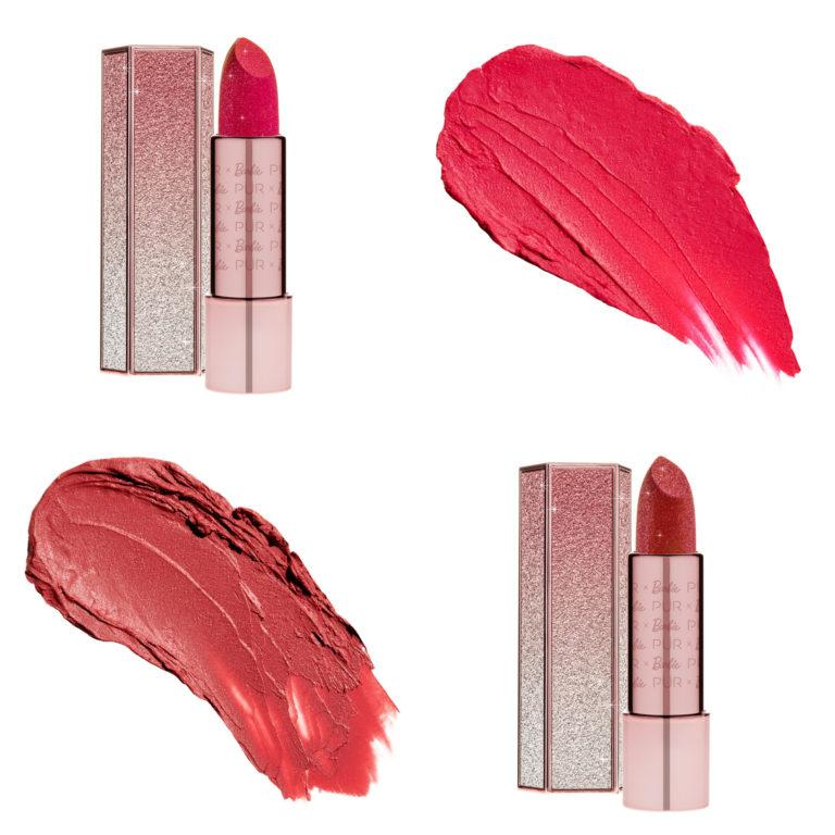 PÜR X BARBIE™ Iconic Lips Signature Semi Matte Lipstick in Legendary & Timeless