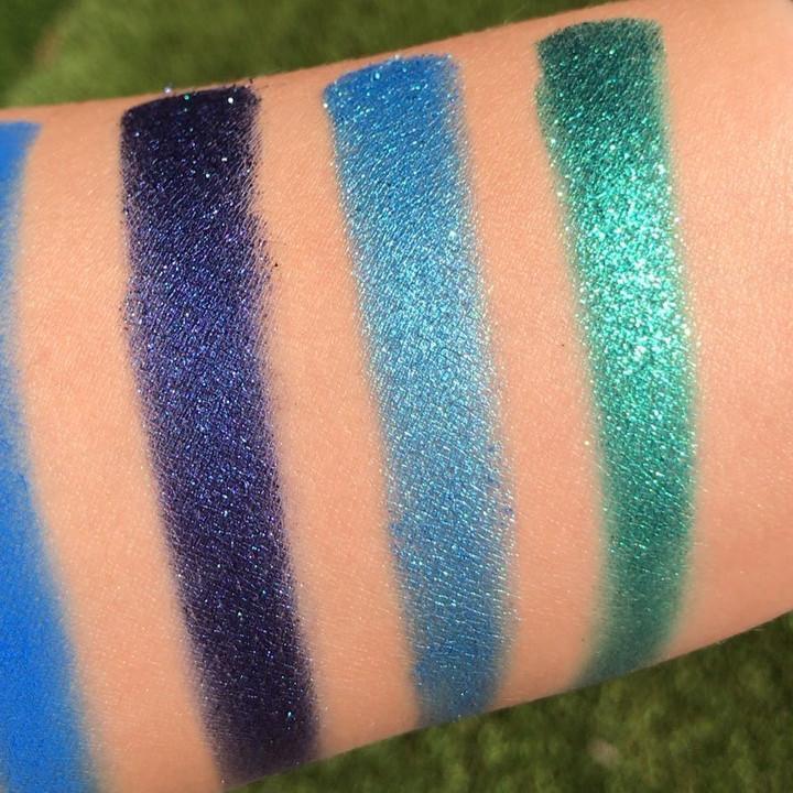 Paleta Paint de Glam Lite Swatches