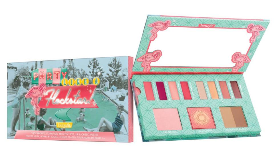 Paleta de Benefit cosmetics Party Like A Flockstar