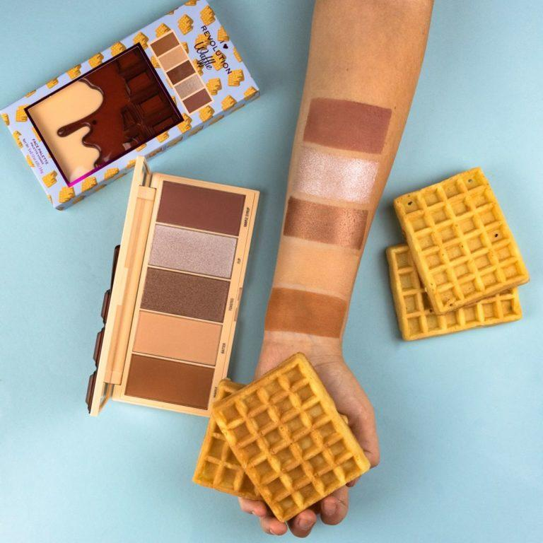 Paleta de Chocolate Waffle Swatches