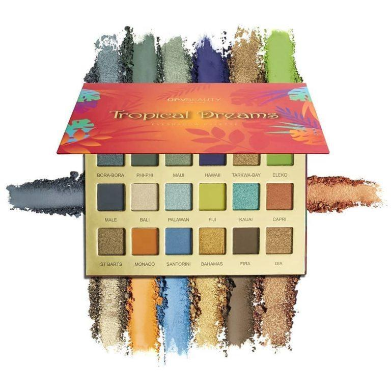 Paleta de sombras tropical dreams