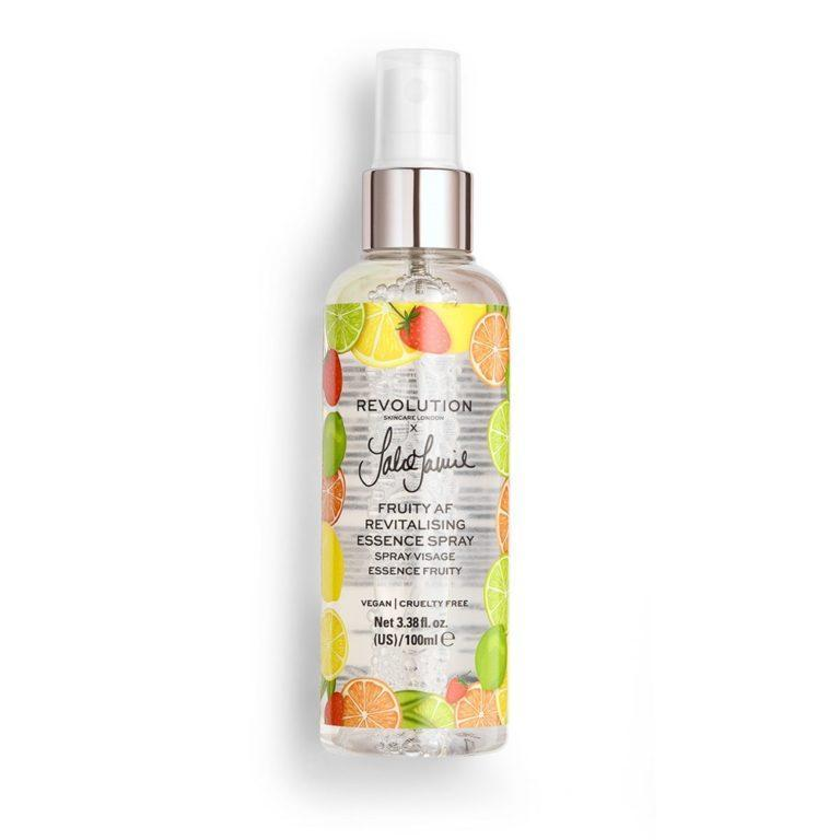 Revolution x Jake Jamie Fruity AF Essence Spray Closed