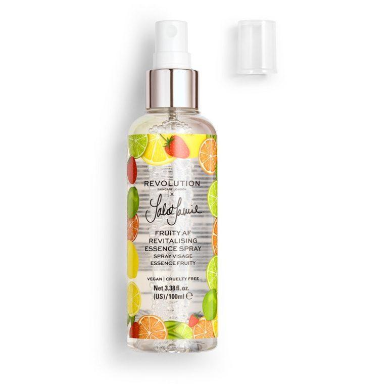 Revolution x Jake Jamie Fruity AF Essence Spray Open