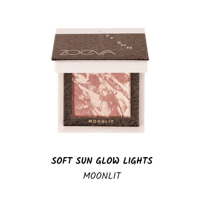 Colección Summer Glow Zoeva Soft sun glow Lights Moonlit
