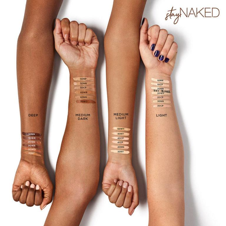StayNaked Concealer ArmSwatch