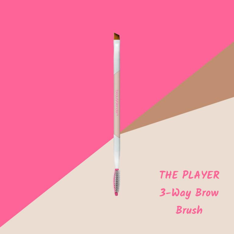 THE PLAYER 3 Way Brow Brush
