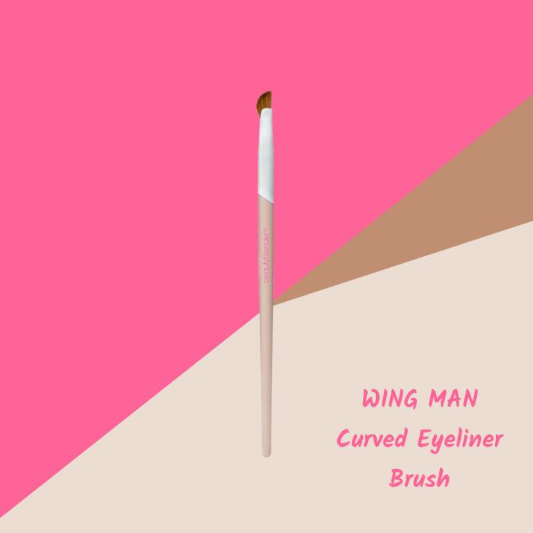 WING MAN Curved Eyeliner Brush