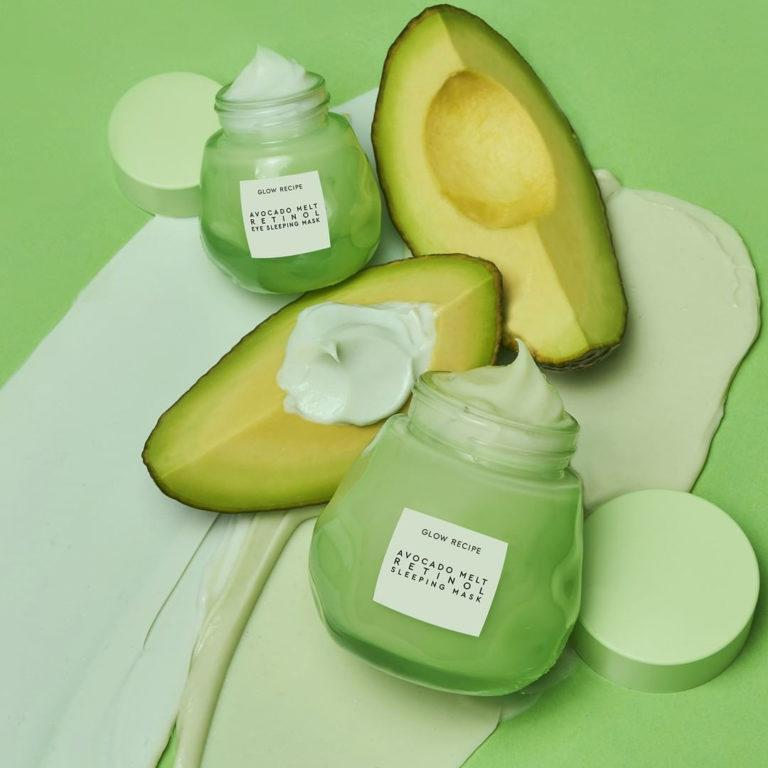 Avocado Melt Retinol Line from Glow Recipe