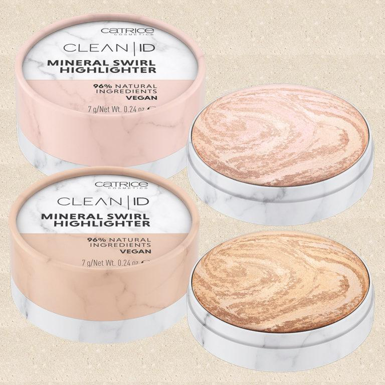 Catrice Cosmetics CLEAN ID Mineral Swirl Highlighters