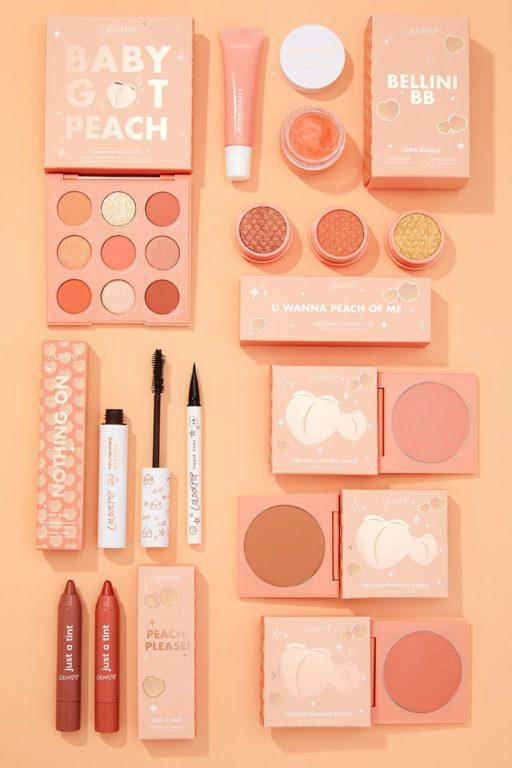 Colourpop Big ole peach collection