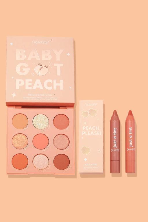 Colourpop Peach of my heart Set