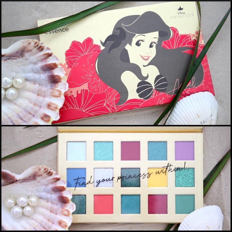 Essence Disney Collection Ariel Eyeshadow Palette