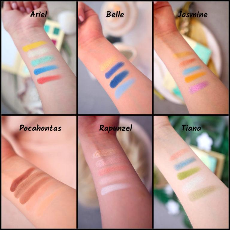 Essence Disney Collection Swatches