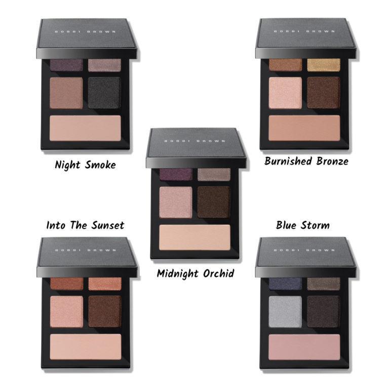 Essencial Eye Palettes names