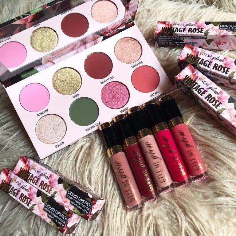 Give Me Glow Cosmetics Vintage Rose Collection