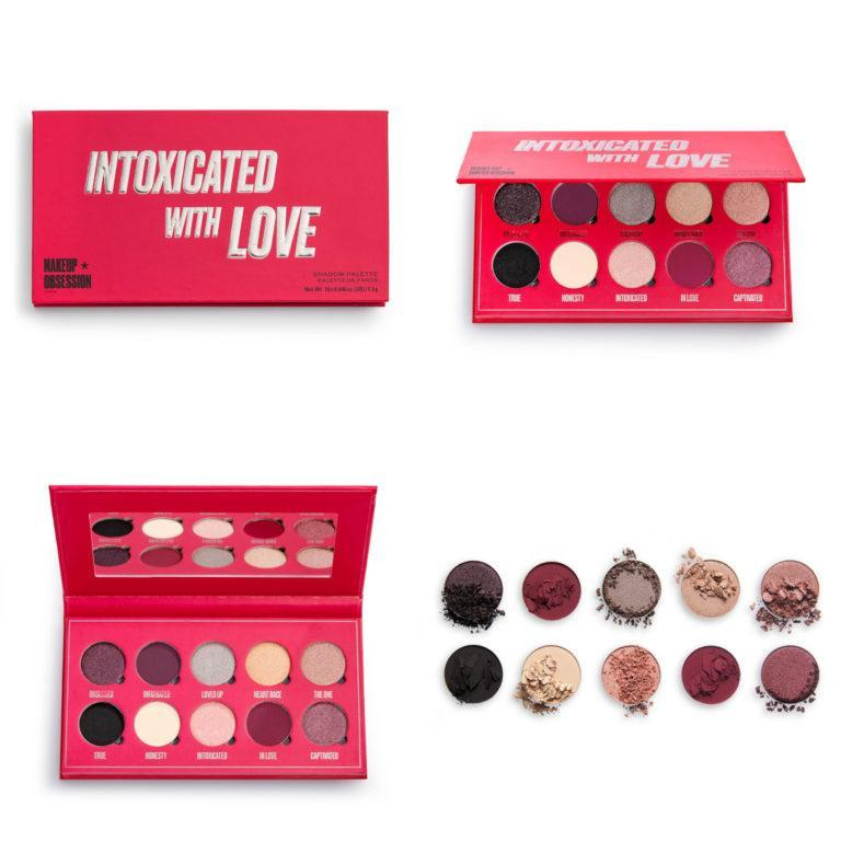 Intoxicated with Love palette de Makeup Obsession