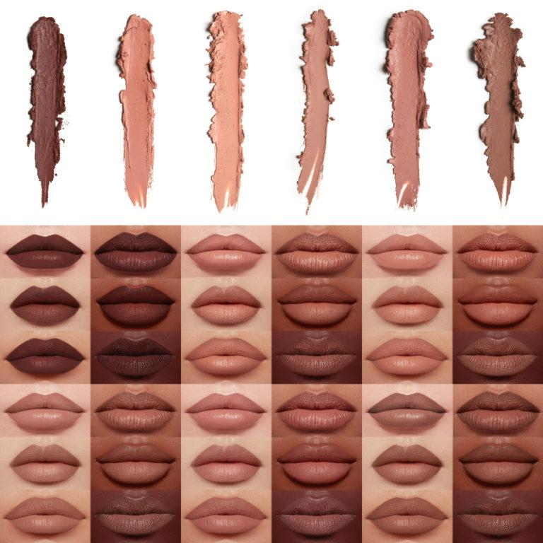 KKW Beauty The Mates Collection Lipsticks Swatches Full