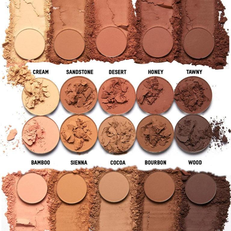 KKW Beauty The Mates Collection Pallette Cocoa Swatches
