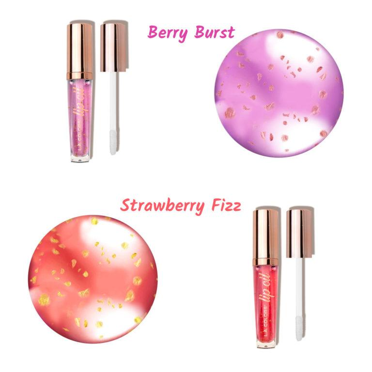 LA Colors ultra hydrating Lip Oil in Berry y strawberry
