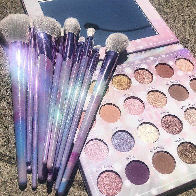 Lavender Brush set y paleta de BH Cosmetics
