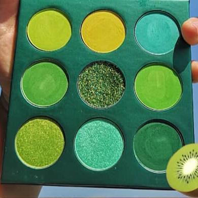 Paleta monocromatica verde