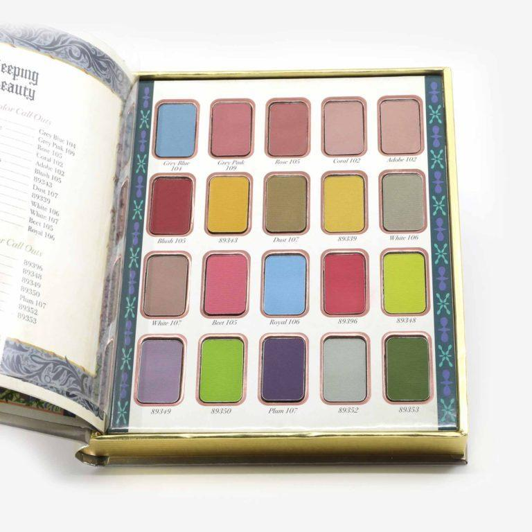 Sleeping Beauty 1959 Eyeshadow Palette Shadows Bella durmiente de Besame x Disney