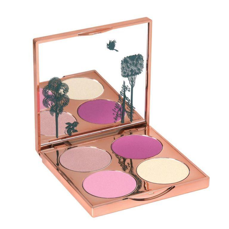Sleeping Beauty Briar Rose Blush Palette Open